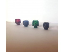 510 Resin Drip Tips - Honeycomb Effect Wide Tips (Mixed Styles)