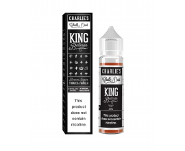 Charlie's Chalk Dust Black Series - King Bellman - 50ml Shortfill - ZERO Nicotine