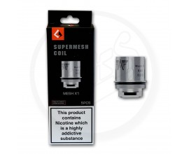 Geek Vape | Aero Supermesh Coils | 0.2 Ohm X1 | Pack of 5