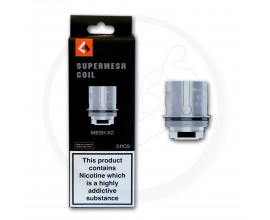 Geek Vape | Aero Supermesh Coils | 0.3 Ohm X2 | Pack of 5