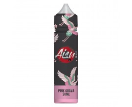 Aisu E-Liquid | Pink Guava | 50ml Shortfill | 0mg (Includes 1 x 18mg ZAP! Nic Salt Shot)