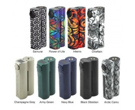 Squid Industries | Double Barrel V3 Box Mod | 150W | Dual 18650