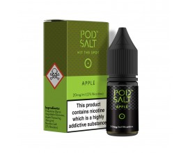 Pod Salts | Core Range | Apple | 10ml Single | 11mg / 20mg Nicotine Salt