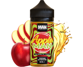 One Hit Wonder Man Series | Apple Man | 100ml Shortfill | 0mg