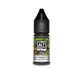 Ultimate Salts Custard | Apple Strudel | 10ml Single | 10mg / 20mg Nicotine Salt