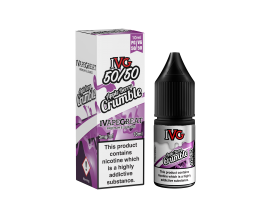I VG 50/50 E-Liquids - APPLE BERRY CRUMBLE - 10ml Single - Various Nicotine Strengths