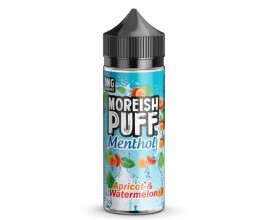 Moreish Puff | Menthol | Apricot & Watermelon | 100ml Shortfill | 0mg