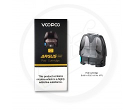 Voopoo | ARGUS AIR Replacement Pods | 2ml | Cartridge Version (Built-In 0.8 Ohm Coils) | Pack of 2