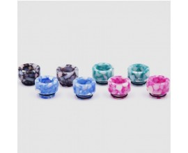 810 Resin Drip Tips - Chunky Flake Effect (Heat Reactive)