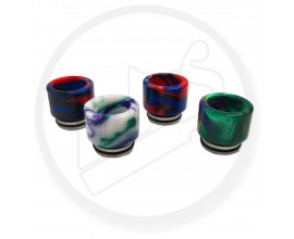 810 Resin & Metal Drip Tips | Marbled Effect | 1 x Single