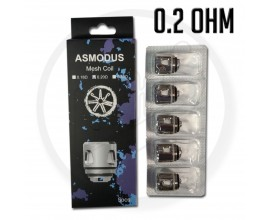 asMODus | Mesh Coils for Viento / Flow Tank | 0.2 Ohm | Pack of 5
