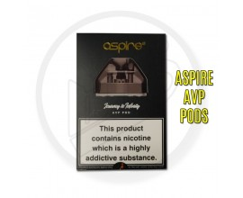 Aspire | AVP Replacement 2ml Pods | 1.2 Ohm Nichrome | Pack of 2