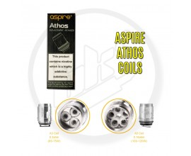 Aspire | Athos Tank Coils | A5 - 0.15 Ohm | 1 x Single Coil Pack