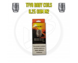 Smok TFV8 Baby Coils - 0.25 Ohm M2 (Pack of 5)