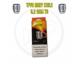 SMOK | TFV8 Baby Coils | 0.2 Ohm T6 | Pack of 5