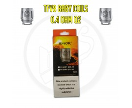Smok TFV8 Baby Coils - 0.4 Ohm Q2 (Pack of 5)