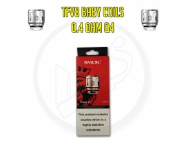 SMOK | TFV8 Baby Coils | 0.4 Ohm Q4 | Pack of 5