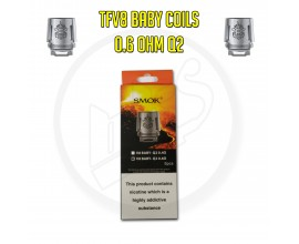 Smok TFV8 Baby Coils - 0.6 Ohm Q2 (Pack of 5)