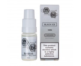 Viking Vape VK Salts | BLACK ICE | 10ml Single Bottles | 10mg / 20mg Nicotine Salts