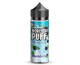 Moreish Puff | Menthol | Blackberry | 100ml Shortfill | 0mg