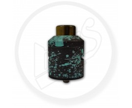 Overpowered Mod Co - 30mm OMC RDA - Custom Cerakote - BLACK / BLUE