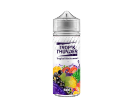 Tropik Thunder - Tropical Blackcurrant - 100ml Shortfill - ZERO Nicotine