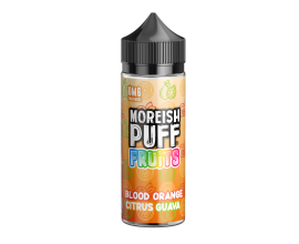 Moreish Puff | Fruits | Blood Orange Citrus Guava | 100ml Shortfill | 0mg