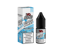 I VG 50/50 E-Liquids - BLUEBERG - 10ml Single - Various Nicotine Strengths