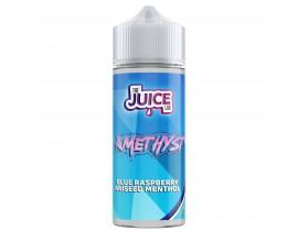The Juice Lab Amethyst | BLUE RASPBERRY ANISEED MENTHOL | 100ml Shortfill | 0mg