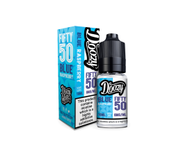 Doozy Vape Co | Fifty 50 TPD Range | 10ml Bottles | BLUE RASPBERRY | Various Nicotine Strengths