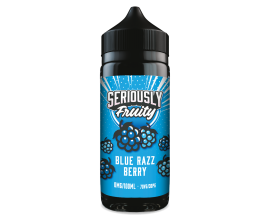 Seriously Fruity by Doozy Vape Co | Blue Razz Berry | 100ml Shortfill | 0mg