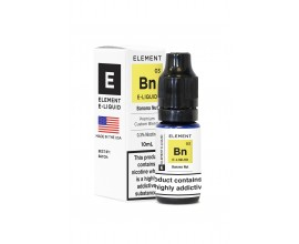 Element E-Liquids Traditional 50/50 Range | Banana Nut | 10ml Single | Various Nicotine Strengths