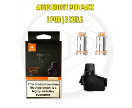 Geek Vape | Aegis Boost Replacement Pod Pack | 1 x 2ml Pod, 2 x Coil