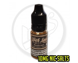 Wick Liquor - Boulevard Shattered - 10mg Nic Salts - 1 x Single