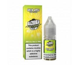 Bazooka! Sour Straws Nicotine Salts | Green Apple | 10ml Single | 10mg / 20mg Nic Salt