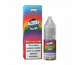Bazooka! Sour Straws Nicotine Salts | Rainbow | 10ml Single | 10mg / 20mg Nic Salt