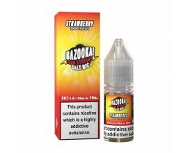 Bazooka! Sour Straws Nicotine Salts | Strawberry | 10ml Single | 10mg / 20mg Nic Salt