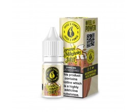 Juice N' Power - CARAMEL MILKSHAKE - 10ml Nic Salts 20mg