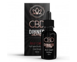 CBD Dinner Lady - 15ml Oral Drops - JELLY CANDY **OUT OF DATE**