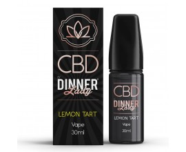 CBD Dinner Lady - 30ml E-Liquid - LEMON TART **OUT OF DATE**