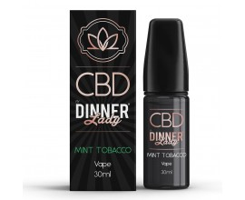 CBD Dinner Lady - 30ml E-Liquid - MINT TOBACCO **OUT OF DATE**