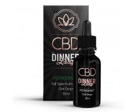 CBD Dinner Lady - 15ml Oral Drops - PEPPERMINT **OUT OF DATE**