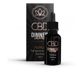 CBD Dinner Lady - 30ml Oral Drops - TROPICAL **OUT OF DATE**
