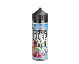 Moreish Puff | Summer Cider on Ice | Cherry | 100ml Shortfill | 0mg