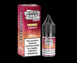 Moreish Puff Salts | Sherbet | Cherry | 10ml Single | 10mg / 20mg Nicotine Salts
