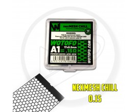 Wotofo | nexMESH Strips for the Profile V1.5 RDA / Profile RDTA | CHILL | 0.15 Ohm A1 | Pack of 10