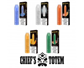 Chief of Vapes | CHIEF'S TOTEM Disposable Pod E-Cigarette Kit | 500mAh / 600 Puffs | 20mg Nicotine Salts | Various Flavours
