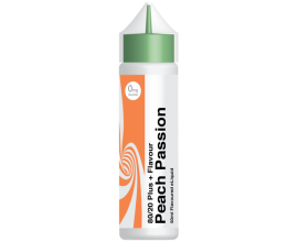 City Vape - Peach Passion - 50ml ZERO NICOTINE - Flavour+ Range
