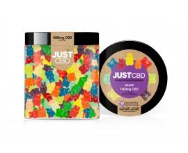 Just CBD | Hemp Infused Gummies Jars | CLEAR BEARS | Various Nicotine Strengths