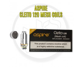Aspire | Cleito 120 Mesh Coils | 0.15 Ohms | Pack of 5
